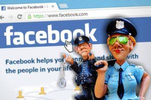 facebook sanctionne