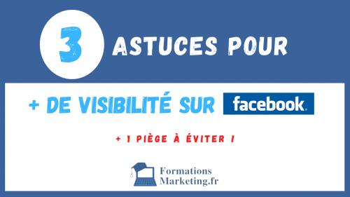 Vignette Comment augmenter sa visibilité sur Facebook