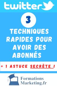 3 techniques rapides pour avoir des abonnés sur twitter rapidement