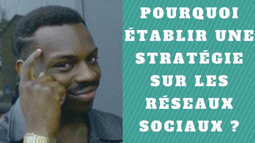 Pourquoi établir une stratégie sur les réseaux sociaux