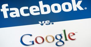 Guerre facebook vs google