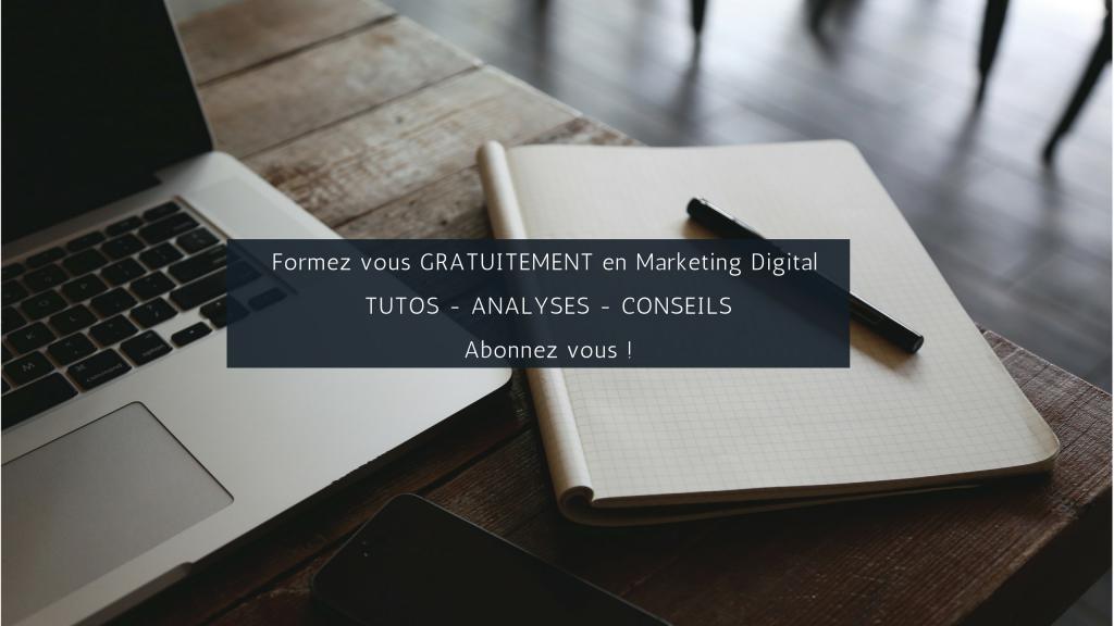 Formation Gratuite en Marketing Digital