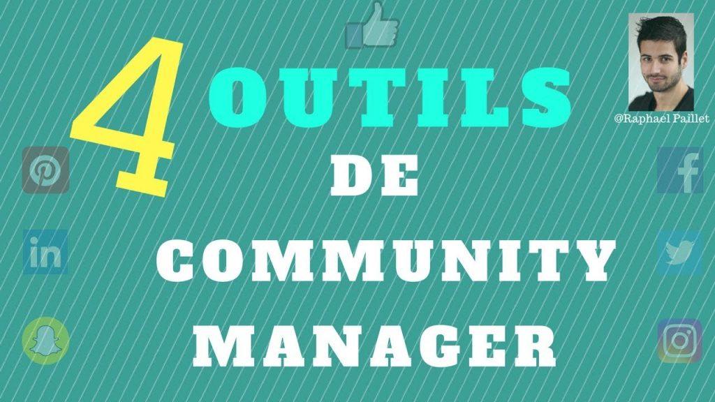 4 outils de community manager