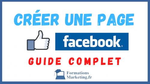 Créer une page sur Facebook