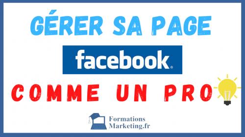 Gérer Sa Page Facebook Facilement Guide Professionnel